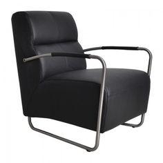Leder design fauteuil Island
