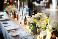 Admittedly, my husband is probably the biggest craft beer nerd you'll ever meet. So a wedding held at Toronto'sSteam Whistle Brewery- well, it'd be right up his alley. And with photos fromRoot Photographyand a film byBright Sky Wedding Designs, you