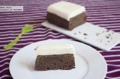 delicia de chocolate y leche condensada