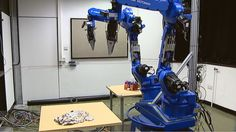 Dexterous robot gets to grips with folding clothes | A three-year research project has produced a robot that can sort and fold clothes. It can discriminate between different types of fabric by looking, touching and listening, in the latter case by using ears in its fingers. [The Future of Robots: http://futuristicnews.com/category/future-robots/ Robotics Books: http://futuristicshop.com/category/robotics-books/]