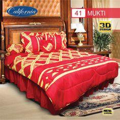 Sprei Set (King 180×200) motif Mukti Premium Lembut. Takut tidak sesuai Ukuran (kekecilan/kebesaran) ??? Kami beri garansi 30 Hari. 3d Design, Comforters, King, Blanket, Bed, Furniture, Home Decor, Creature Comforts, Quilts