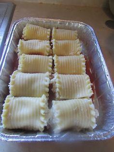 Cheesy Lasagna Roll - Ups - meatless (or easily add meat) - easier than it tastes and fabulous new mom/sick friend meal!