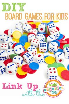 DIY Board Games for Kids ~ Add Yours