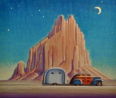 Nomad - Original Fine Art for Sale - © Robert LaDuke