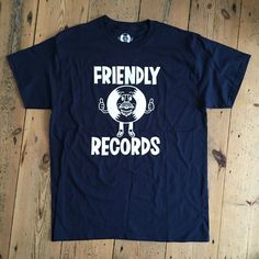 Adults Friendly Records T-Shirt