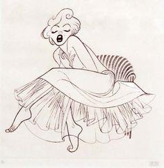 MM by Al Hirschfeld