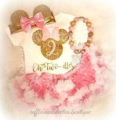 Add a little shimmer and glitz to your little ones birthday with this beautiful Oh-Two-dles Birthday Onesie! Is she your Minnie then she needs this adorable Mouse shirt. THIS LISTING IS FOR THE T - ON