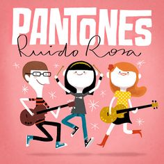 Pantones album cover - by Puño | http://pantones.bandcamp.com/ | http://punio.tumblr.com/ for the band.