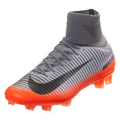 88e0a8bdd Nike Mercurial Veloce III CR7 DF FG Soccer Cleat - Cool Grey Metallic  Hematite Wolf Grey Total Crimson Tart
