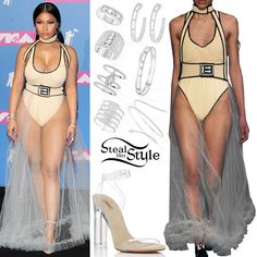 Nicki Minaj Clothes Outfits Steal Her Style Mamma Mia, Crazy Outfits, Cool Outfits, Celebrity Outfits, Celebrity Style, Celebrity Crush, Nicki Minaj Outfits, Burberry Outfit, Vetement Fashion