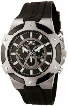 Invicta 7342 Stainless Steel Signature Chronograph Black Strap Invicta. $141.43. Save 82%!