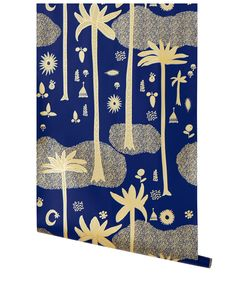 Cosmic Desert (Cobalt), Justina Blakeney collection from Hygge & West