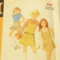 Vintage 1960s Girls Separates Pattern McCalls 2475 by Revvie1, $8.00