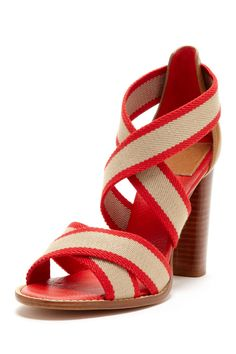 Tory Burch Laurie Heel Sandal on SALE...was over 280 now under 90- in my dreams I will own these!