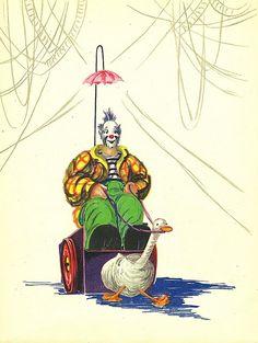 A lovely vintage clown