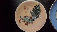 Christmas 1974 Norman Rockwell Vintage Plate By Ridgewood - Scotty Gets His Tree