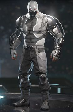 The below are Bane's costumes from Injustice 2 offered since release. Note that he is wearing his base armor in each picture. Dc Comic Books, Comic Book Heroes, Injustice Comic, Marvel Dc, Bane Costume, Character Art, Character Design, Character Reference, Dc Comics