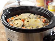 Slow Cooked Creamy Chicken & Wild Rice | KitchenDaily.com