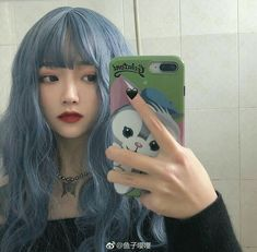 Cute Girls, Cool Girl, Ulzzang Korean Girl, Aesthetic Hair, Kim Jisoo, Coloured Hair, Dye My Hair, Kawaii Girl, Hair Inspo