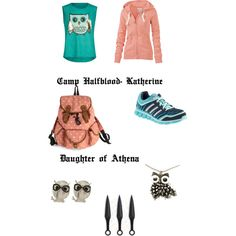 """""""Katherine- Daughter of Athena"""" by kristenkubek on Polyvore <----- Want"""