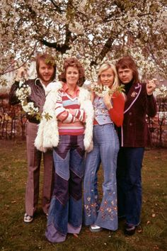 Abba, 1974. (via Old Pics Archive on Twitter)