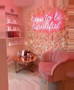 Beauty Room Salon, Beauty Room Decor, Beauty Salon Interior, Salon Interior Design, Beauty Salons, Beauty Studio, Boutique Interior, Nail Salon Design, Nail Salon Decor