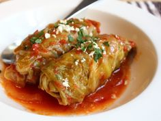 Food Wishes Video Recipes: Lambage Rolls! Lamb & Rice Stuffed Cabbage Leaves with Almonds and Currants