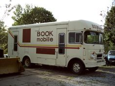 I loved Bookmobile day!  The little bus came to the park in the summertime.