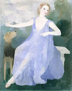 Portrait of Valentine Tessier: Marie Laurencin