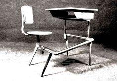 AreaNeo | Stage for Design &  Art | Jean Prouvé school desk 1930