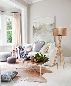 Salón diseñado por la Arquitecta de Interiores de La Maison Vintage. Los muebles son de nuestra tienda online: www.lamaisonvintage.es