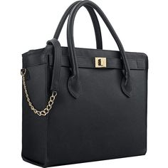 """Executive 15.6"""" Tote.  Fully padded 15.6 laptop compartment.  Interior organizer section.  Blue interior lining.  Shoulder strap.  Top zippered closure."""