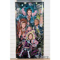 Rock Stars Photo Door Banner fun for AR parties $9.25