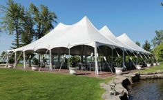 We offer Traditional Frame Tents, Peaked Frame Tents, and High Peak Rise to the Occasion Tent & Party - We offer Traditional Frame Tents, Peaked Frame Tents, and High Peak Pole Tents of all sizes. You can even create your own unique environment by connecting tents of different sizes and shapes!