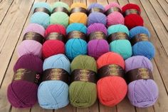 Original Stylecraft Special DK Shades) - Attic 24 Shop - Wool Warehouse - Buy Yarn, Wool, Needles & Other Knitting Supplies Online! Yarn Color Combinations, Colour Schemes, Colour Palettes, Colour Chart, Granny Stripe Blanket, Granny Squares, Attic 24, Patchwork Heart, Yarn Inspiration