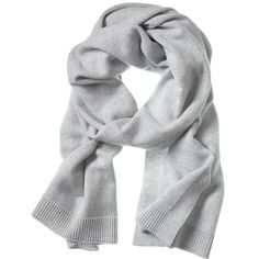 Banana Republic Todd & Duncan Plaited Cashmere Scarf Size One Size -... ($248) ❤ liked on Polyvore featuring accessories, scarves, banana republic, braided scarves, gray scarves, grey shawl and woven shawl