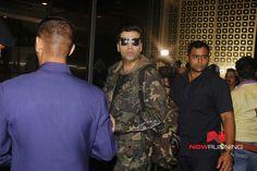 Karan Johar snapped at the airport