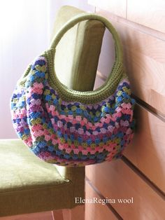 Borsa Granny (pattern is in Japanese, but has a chart.)