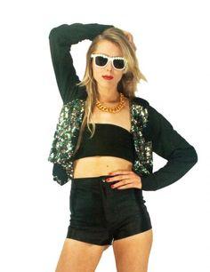 Aurora Disco Jacket | BimboFlamingo | Runway Republic
