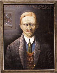 Franz Radziwill, Einer von den Vielen des 20. Jahrhunderts  One of the many in the 20th century (1927)