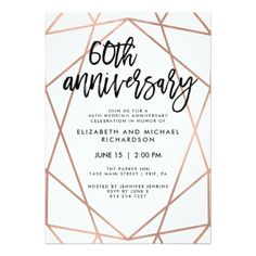 Rose gold feathers black marble 18th birthday invitation 18th faux rose gold geometric 60th wedding anniversary card weddinginvitations wedding invitations party card cards invitation geometric filmwisefo