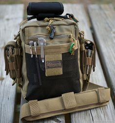 Maxpedition NeatFreak with additional pouches.