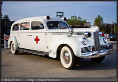 There's something about the appearanceof the old ambulances ...
