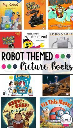 Childrens books about robots