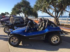 OZ beach buggy on Surfers Paradise Beach