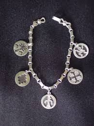 Resultado de imagen para plateria mapuche aros Alex And Ani Charms, Decorative Objects, Metal Art, Jewels, Silver, Chile, Ethnic, Bangles, Earrings