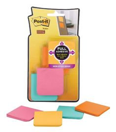 Post-it Super Sticky Full Adhesive Notes, Farmer's Market Colors, 2x2-Inches, 8-Pack (F220-8SSFM) Post-It http://www.amazon.com/dp/B009E6J52U/ref=cm_sw_r_pi_dp_.zp1tb08XPB5J95A