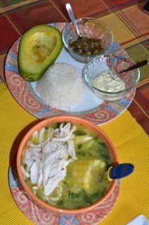La Comida de mi Casa: Ajiaco Santafereño