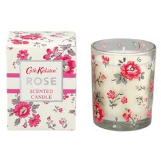 Painted Rose Scented Candle | Cath Kidston | #CKCrackingChristmas