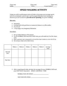 Printables Acceleration Worksheet speed velocity and acceleration 6th grade science worksheets calculate average when given a time recorded times allows students to actively participate practice collecting data